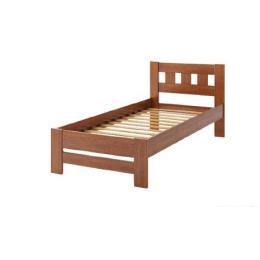"""Ліжко односпальне дерев'яне """"Сакура"""" (бук)"""